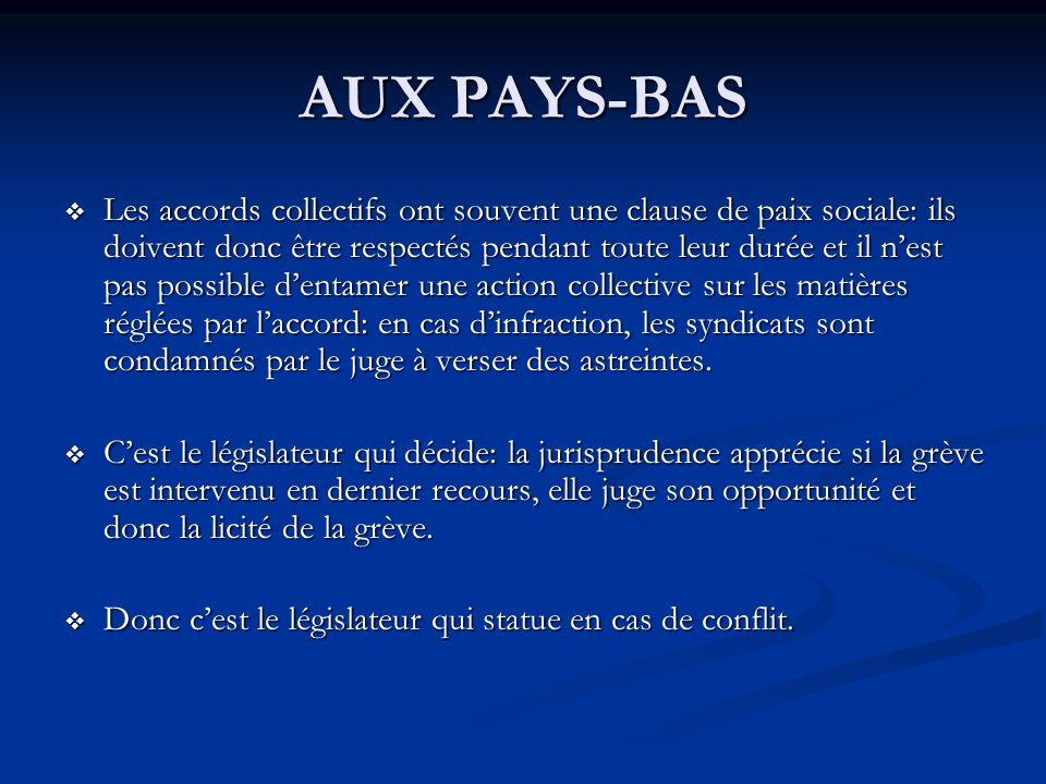 AUX PAYS-BAS