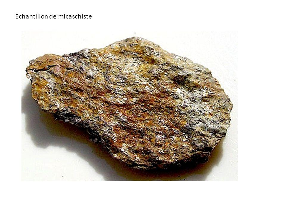 Echantillon de micaschiste