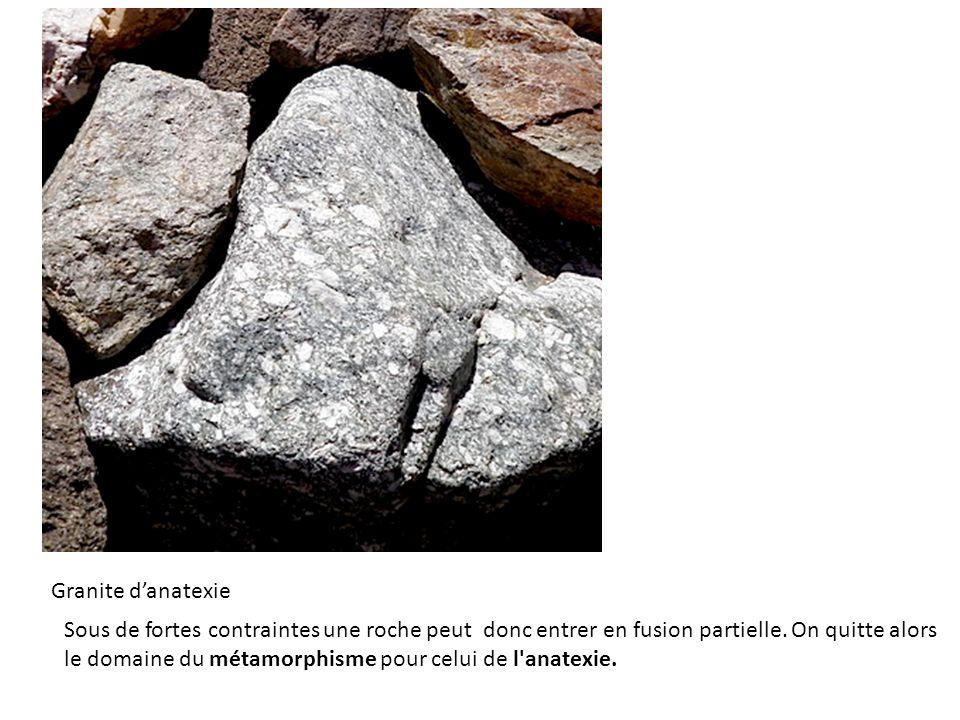 Granite d'anatexie