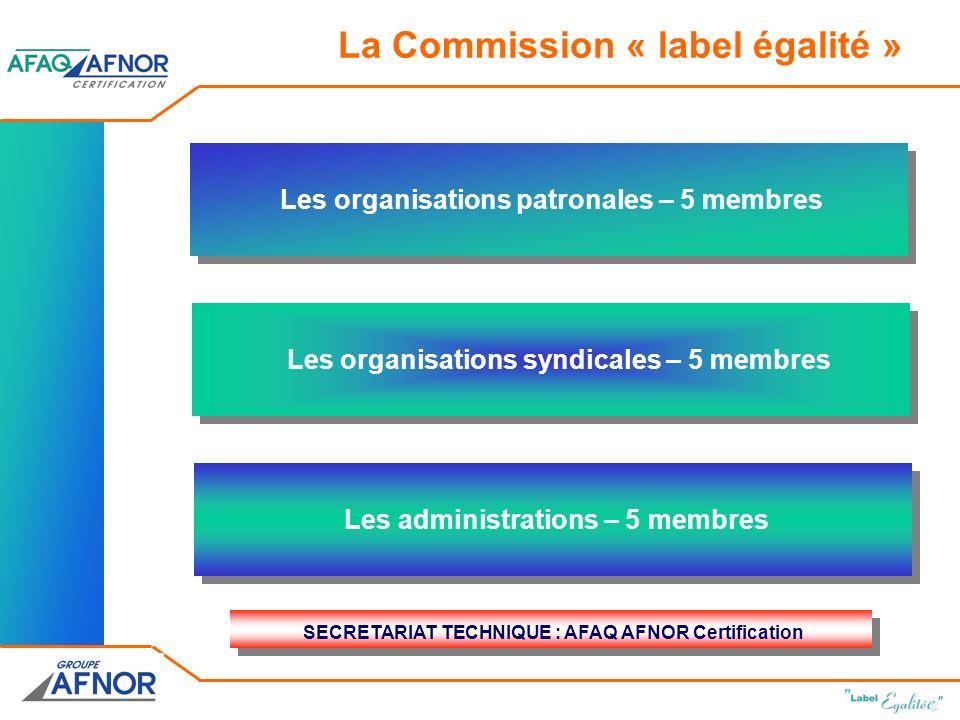 La Commission « label égalité »