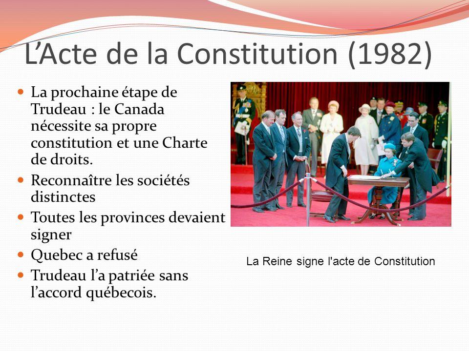 L'Acte de la Constitution (1982)