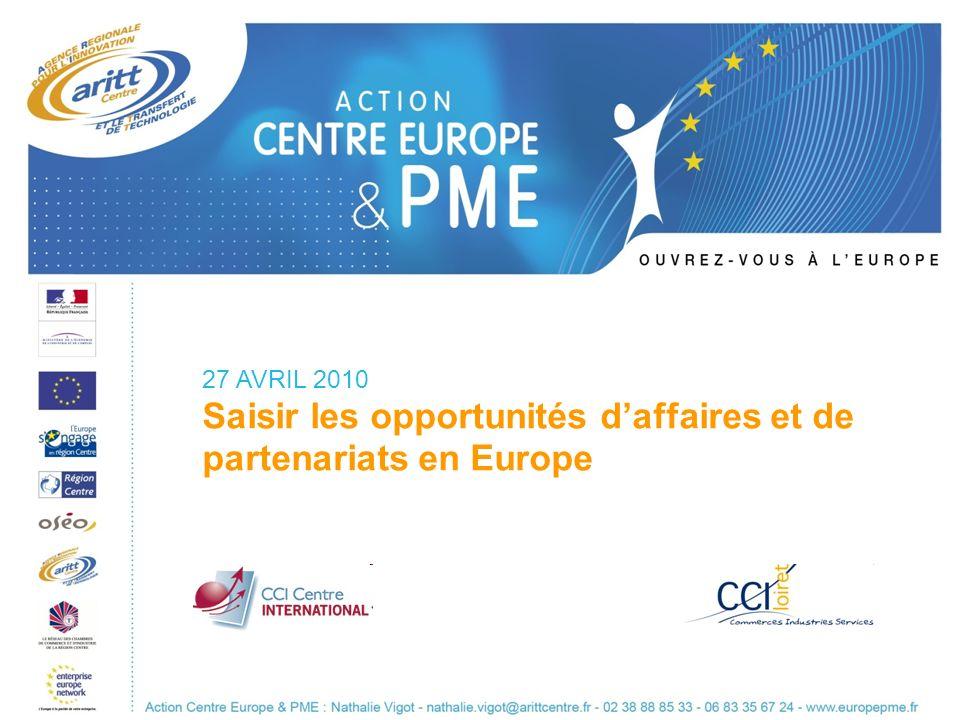 Saisir les opportunités d'affaires et de partenariats en Europe