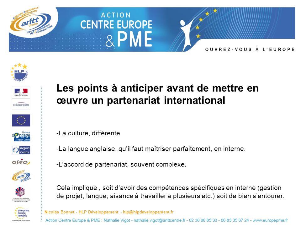 Les points à anticiper avant de mettre en œuvre un partenariat international
