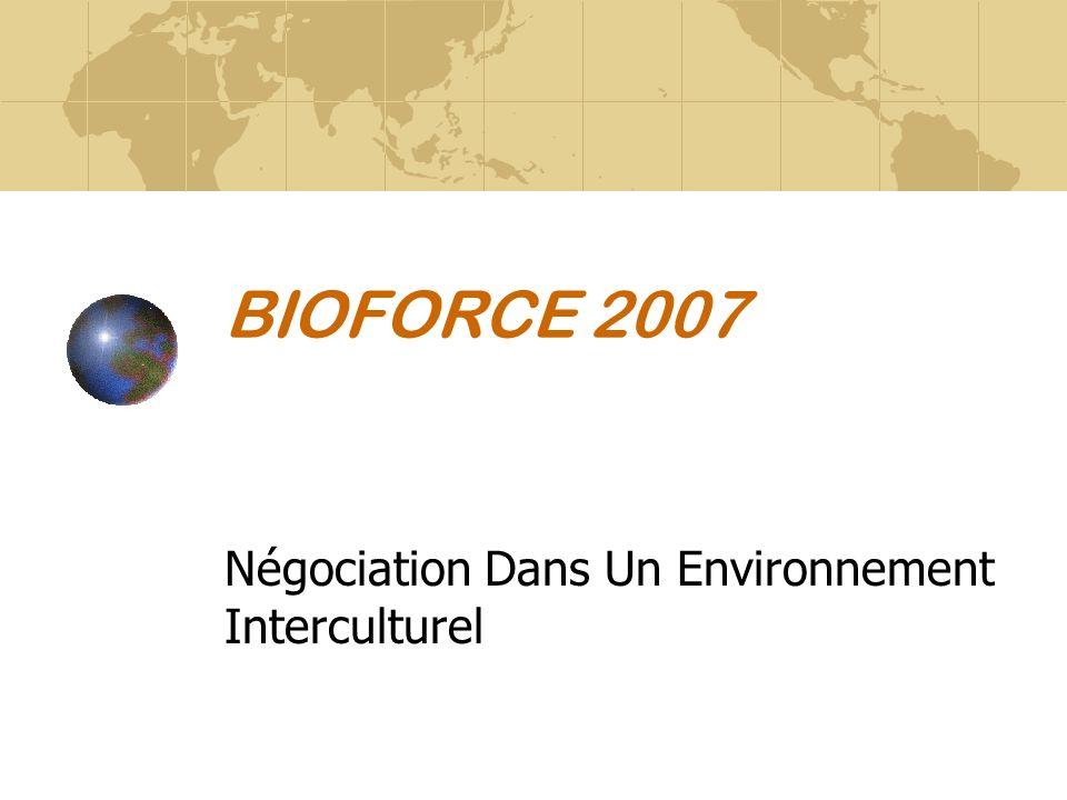 Négociation Dans Un Environnement Interculturel