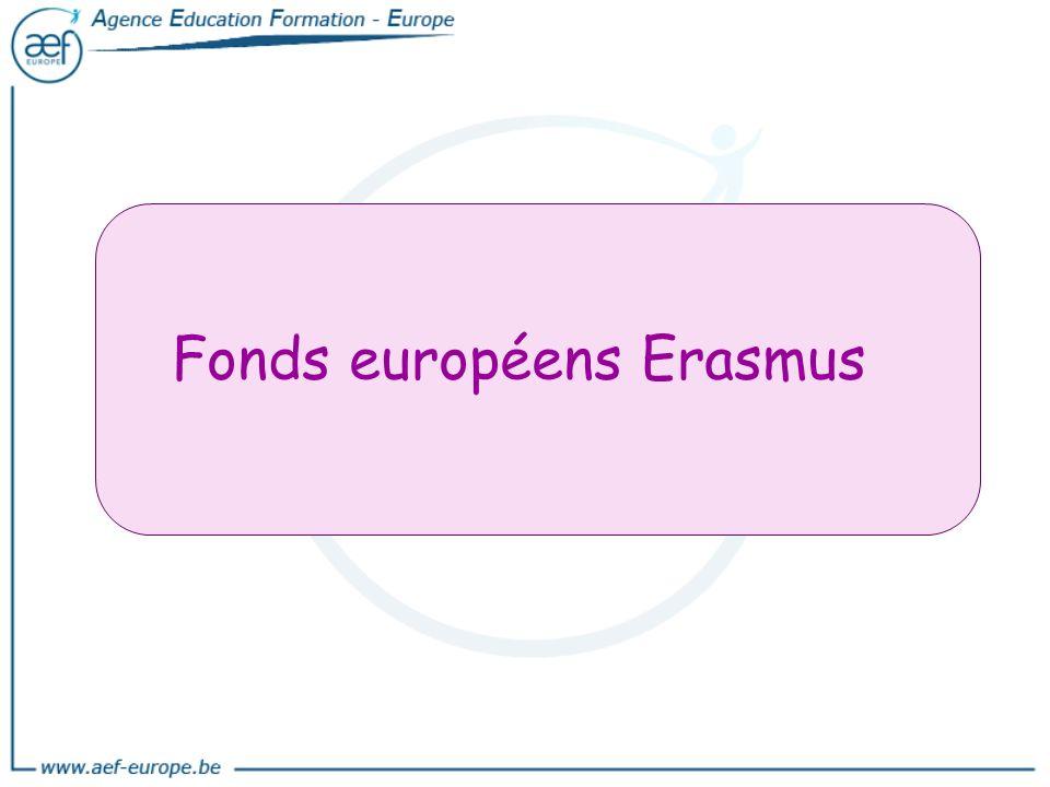 Fonds européens Erasmus