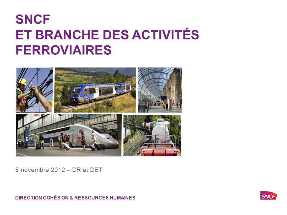 SNCF ET BRANCHE DES ACTIVITÉS FERROVIAIRES