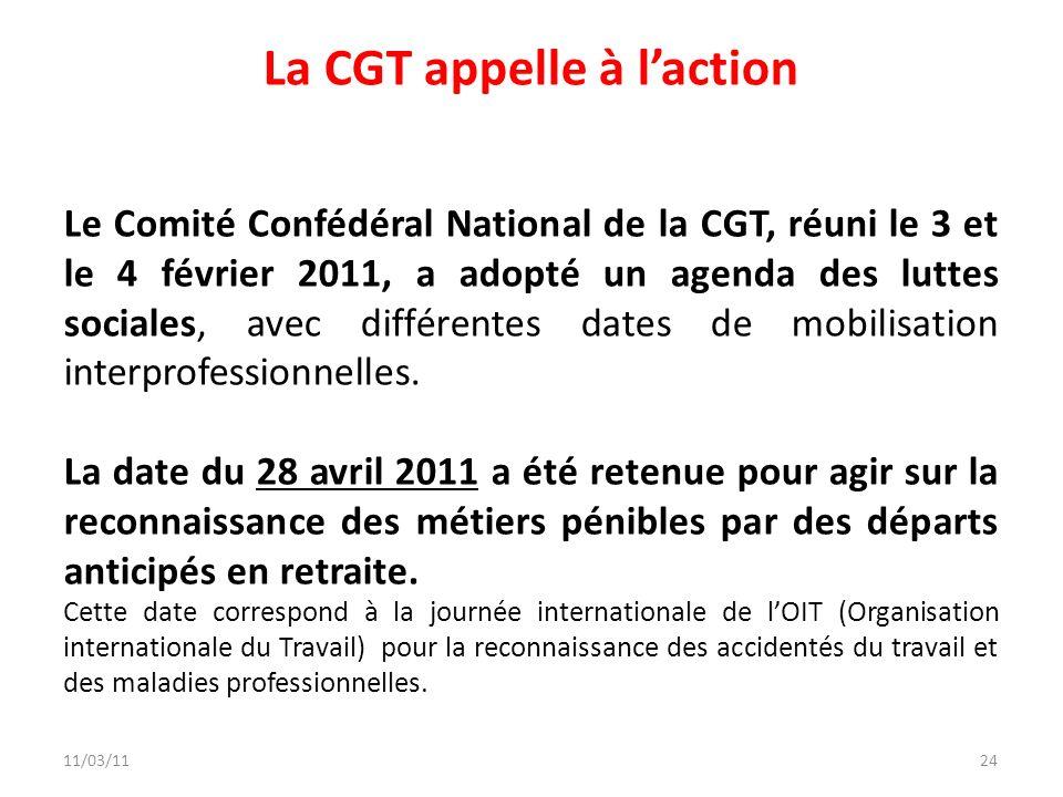 La CGT appelle à l'action