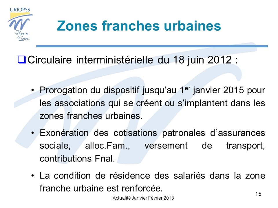 Zones franches urbaines