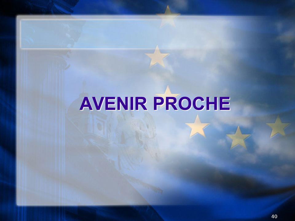 AVENIR PROCHE