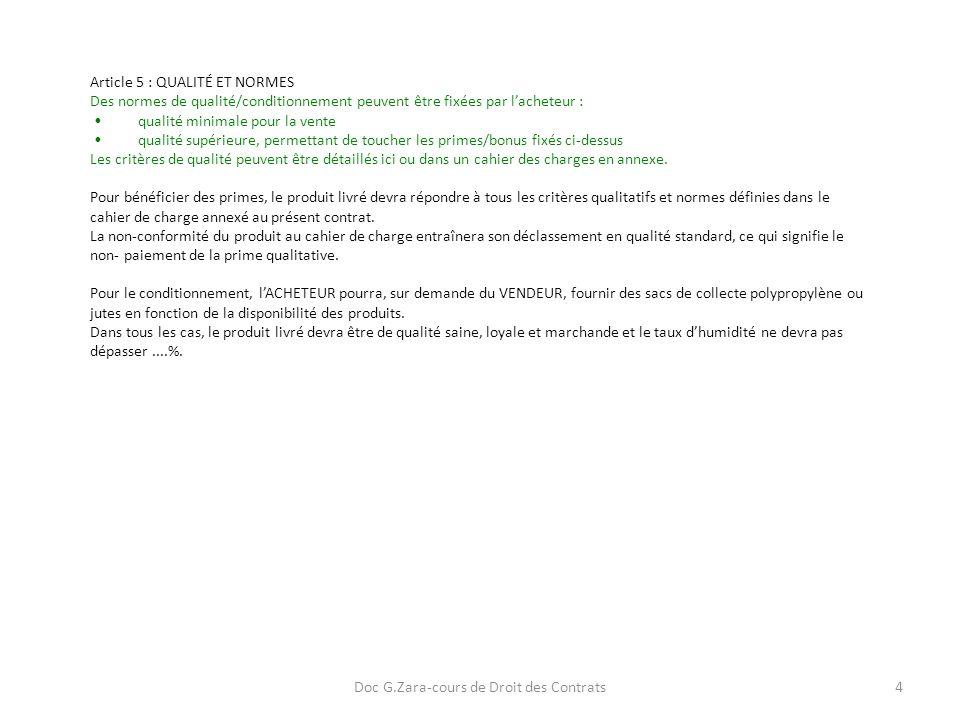 Doc G.Zara-cours de Droit des Contrats