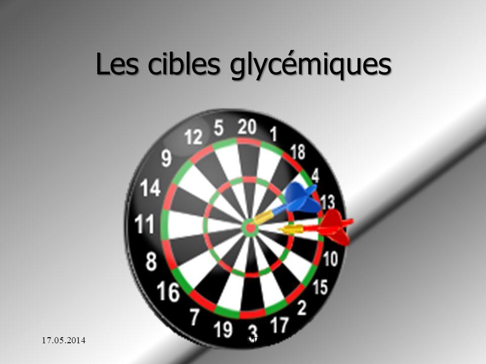 Les cibles glycémiques