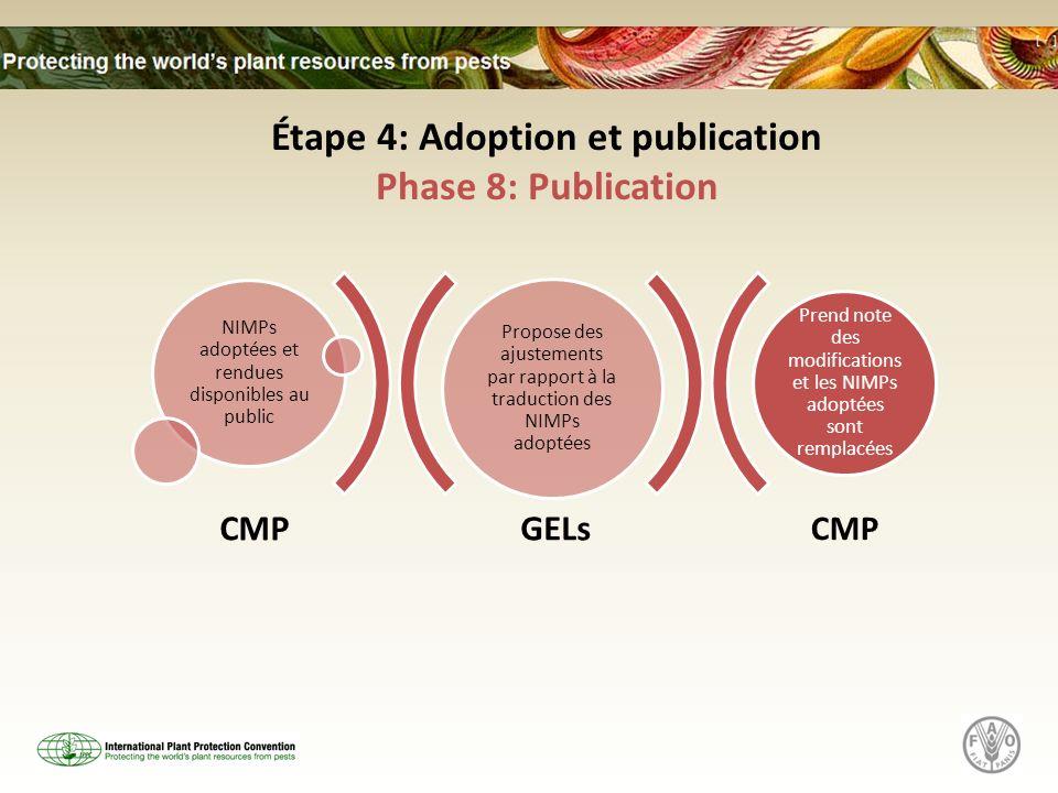 Étape 4: Adoption et publication