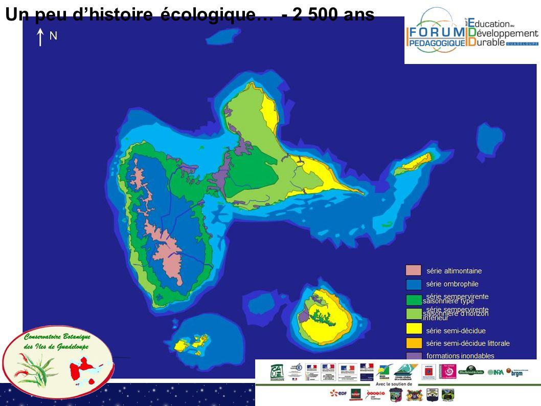 Un peu d'histoire écologique… - 2 500 ans