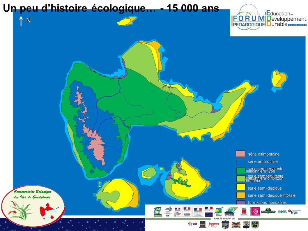 Un peu d'histoire écologique… - 15 000 ans