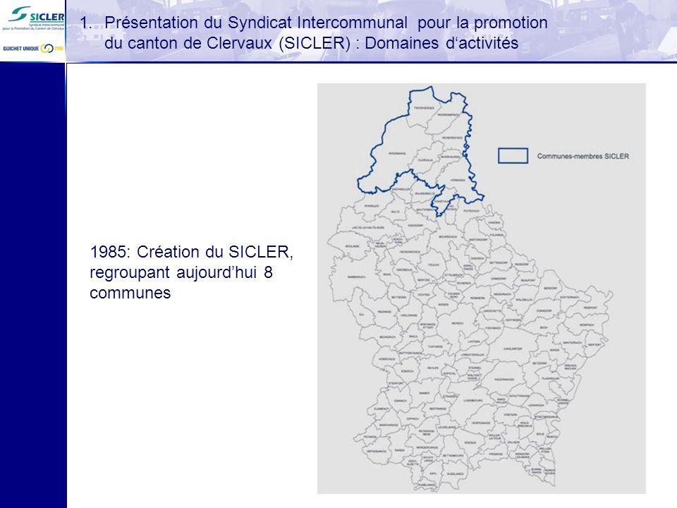 Présentation du Syndicat Intercommunal pour la promotion