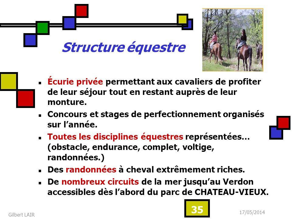 Structure équestre Écurie privée permettant aux cavaliers de profiter de leur séjour tout en restant auprès de leur monture.