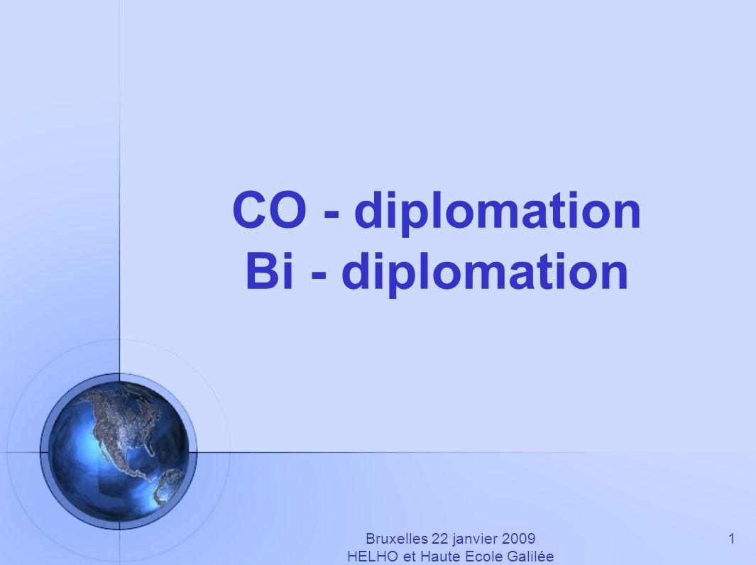 CO - diplomation Bi - diplomation