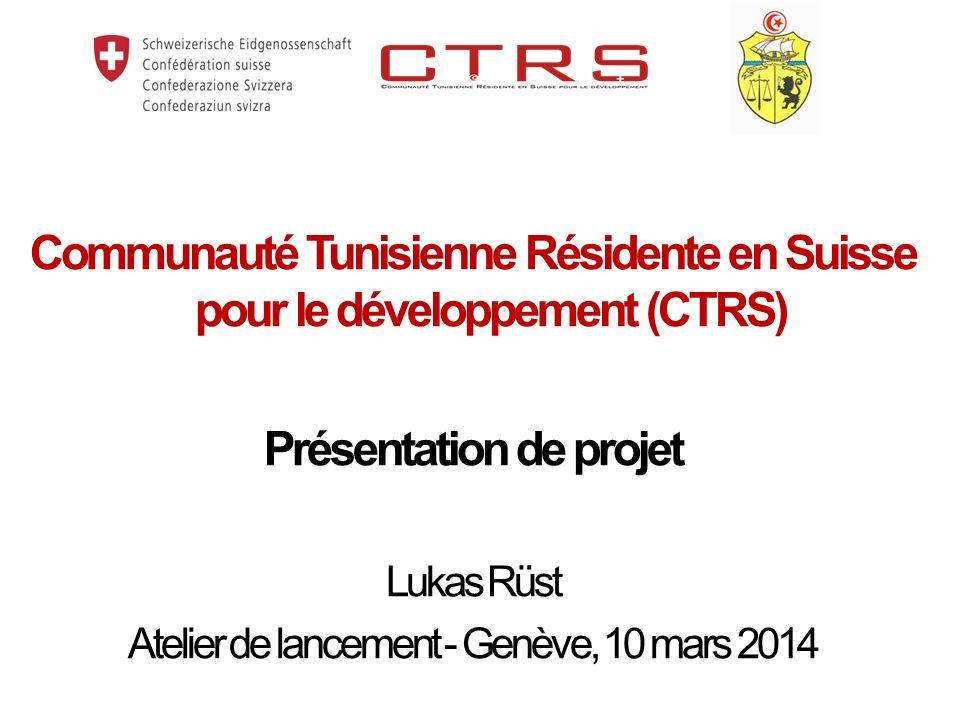 Communauté Tunisienne Résidente en Suisse pour le développement (CTRS)