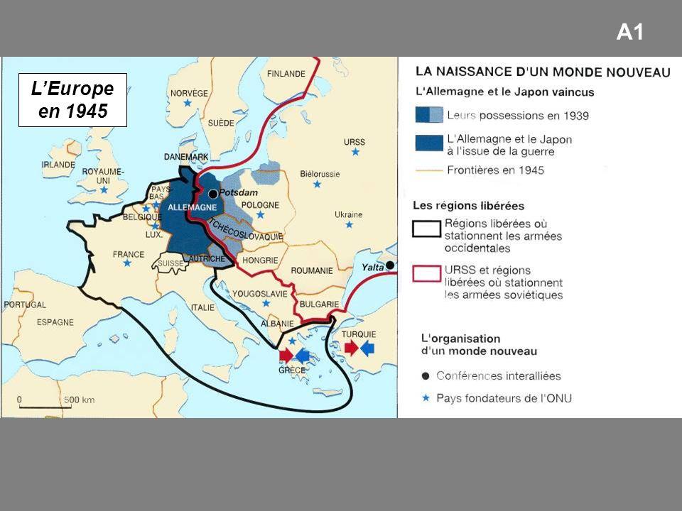 A1 L'Europe en 1945