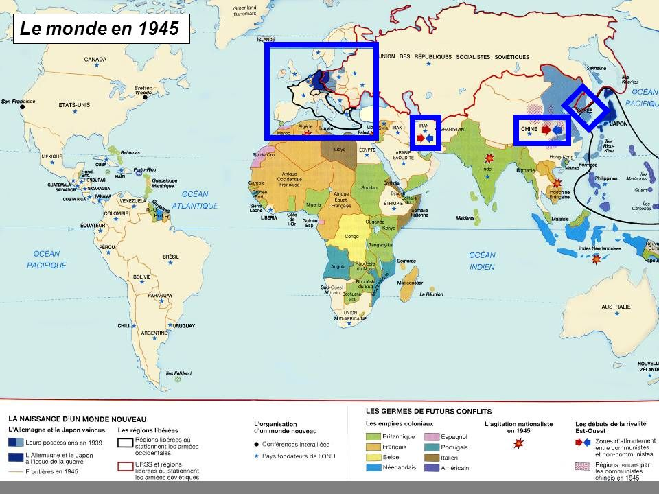 La Guerre Froide Introduction En Cartes Ppt Video