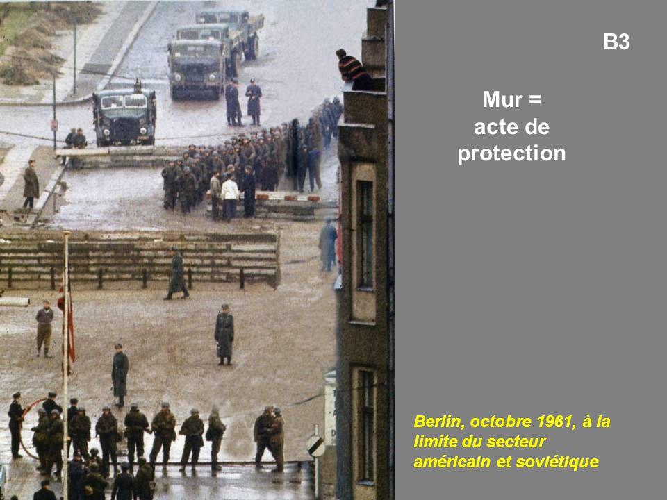 Mur = acte de protection