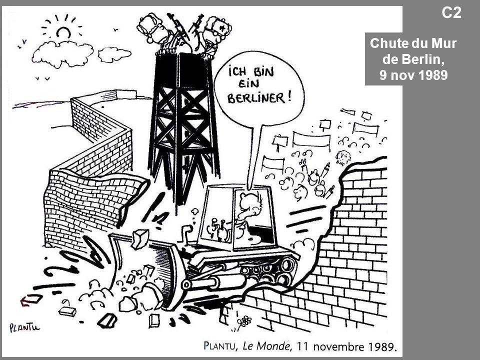Chute du Mur de Berlin, 9 nov 1989