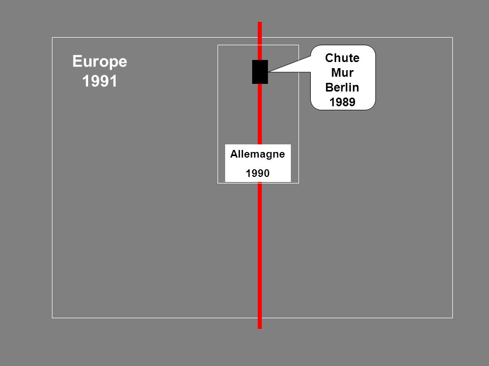 Chute Mur Berlin 1989 Europe 1991 Allemagne 1990