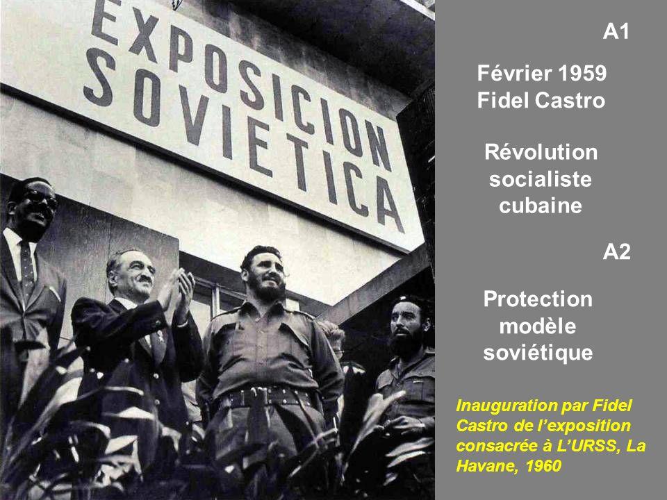 Révolution socialiste cubaine Protection modèle soviétique