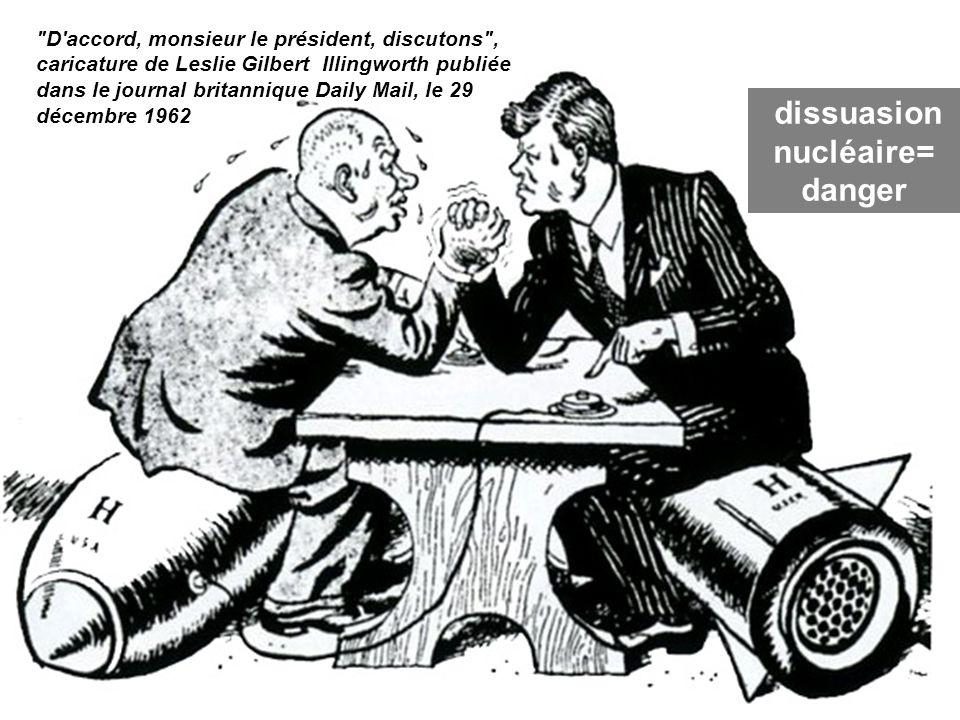 dissuasion nucléaire= danger