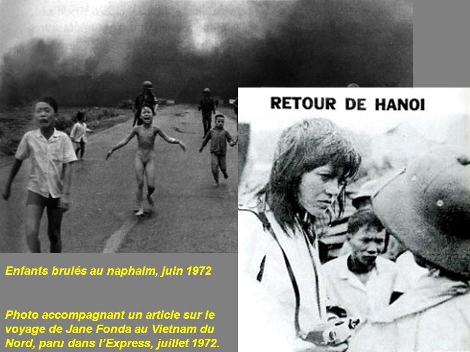 Enfants brulés au naphalm, juin 1972