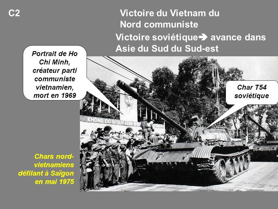 Victoire du Vietnam du Nord communiste