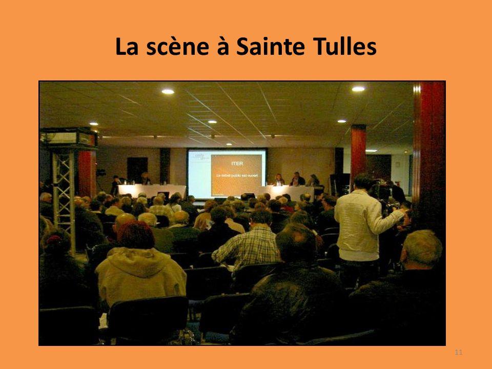 La scène à Sainte Tulles