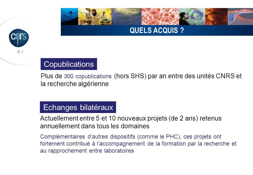 QUELS ACQUIS Copublications Echanges bilatéraux