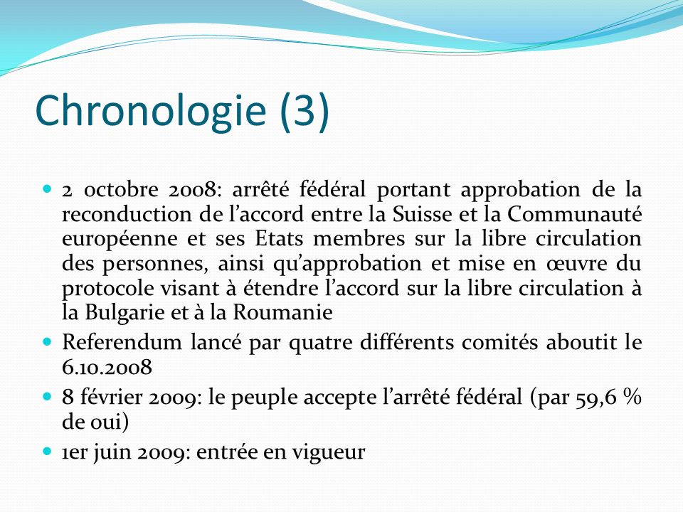 Chronologie (3)
