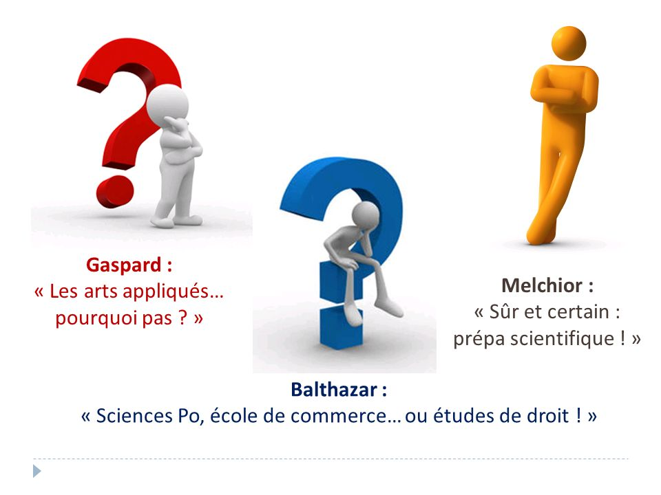 « Sciences Po, école de commerce… ou études de droit ! »