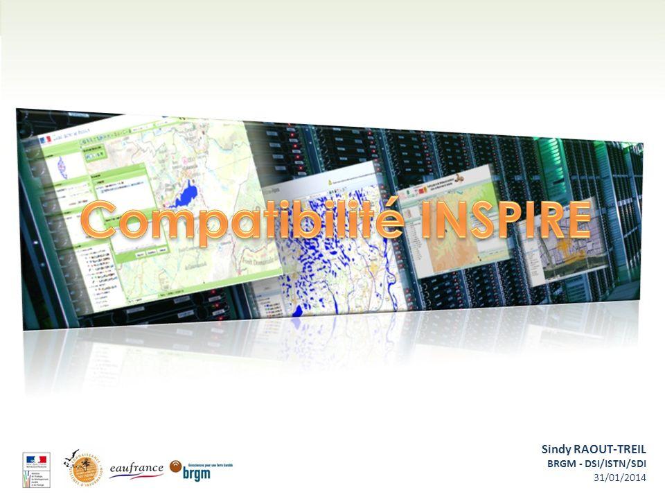 Compatibilité INSPIRE