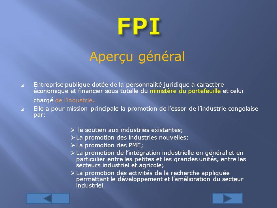 FPI Aperçu général.