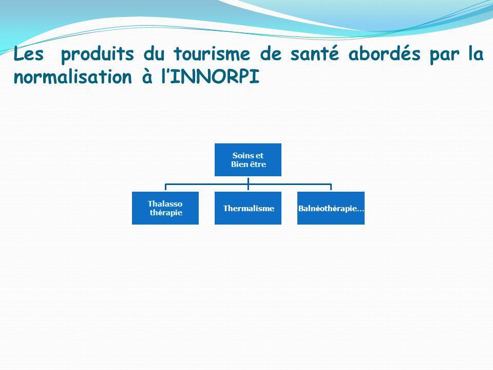 Les produits du tourisme de santé abordés par la normalisation à l'INNORPI