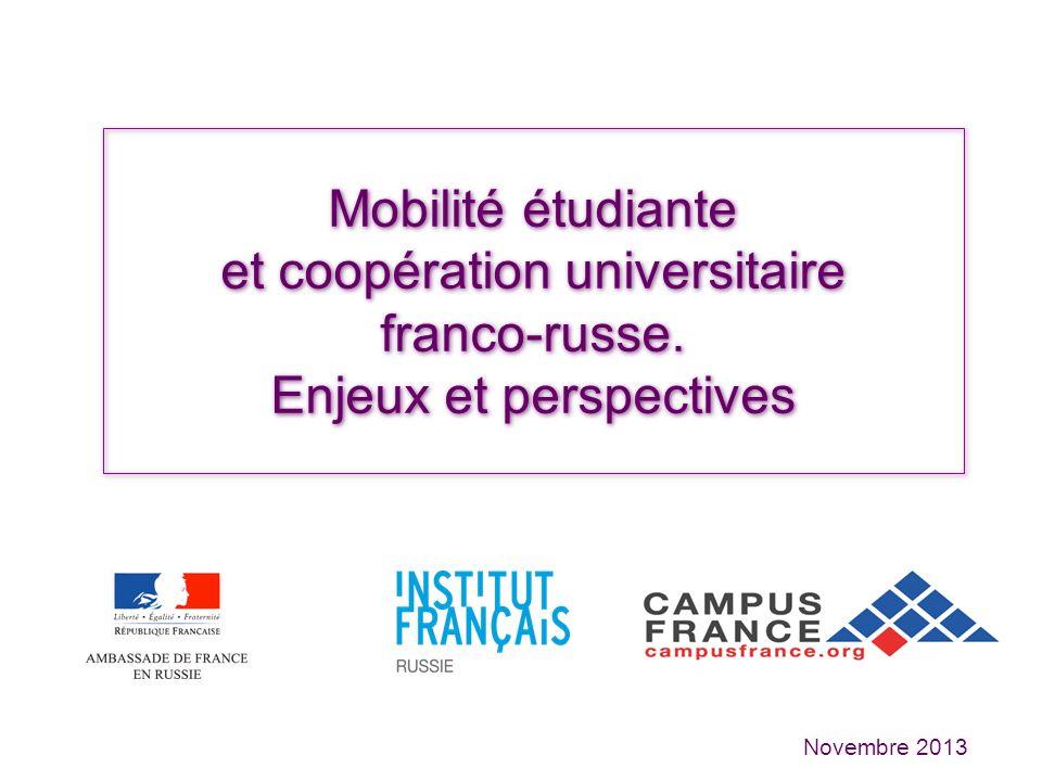 et coopération universitaire franco-russe. Enjeux et perspectives