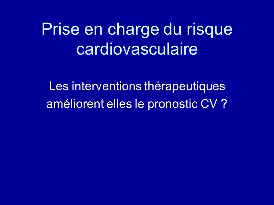 Prise en charge du risque cardiovasculaire