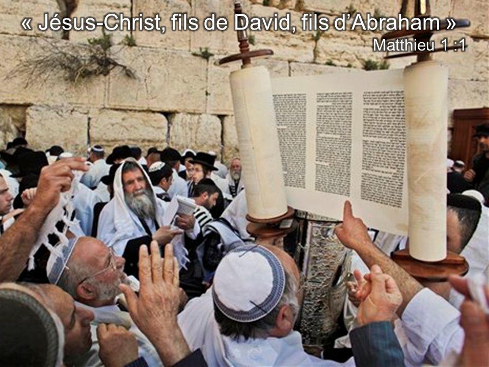 « Jésus-Christ, fils de David, fils d'Abraham »