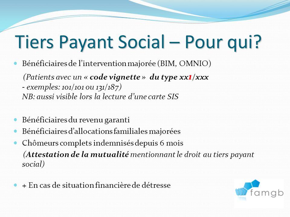 Tiers Payant Social – Pour qui