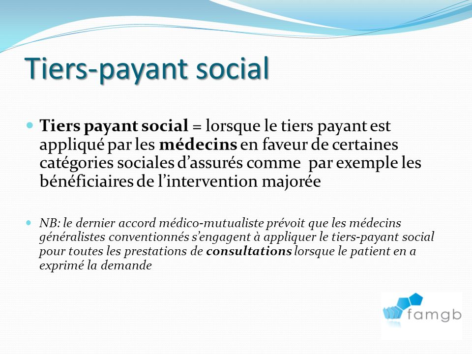 31/03/2017 Tiers-payant social.