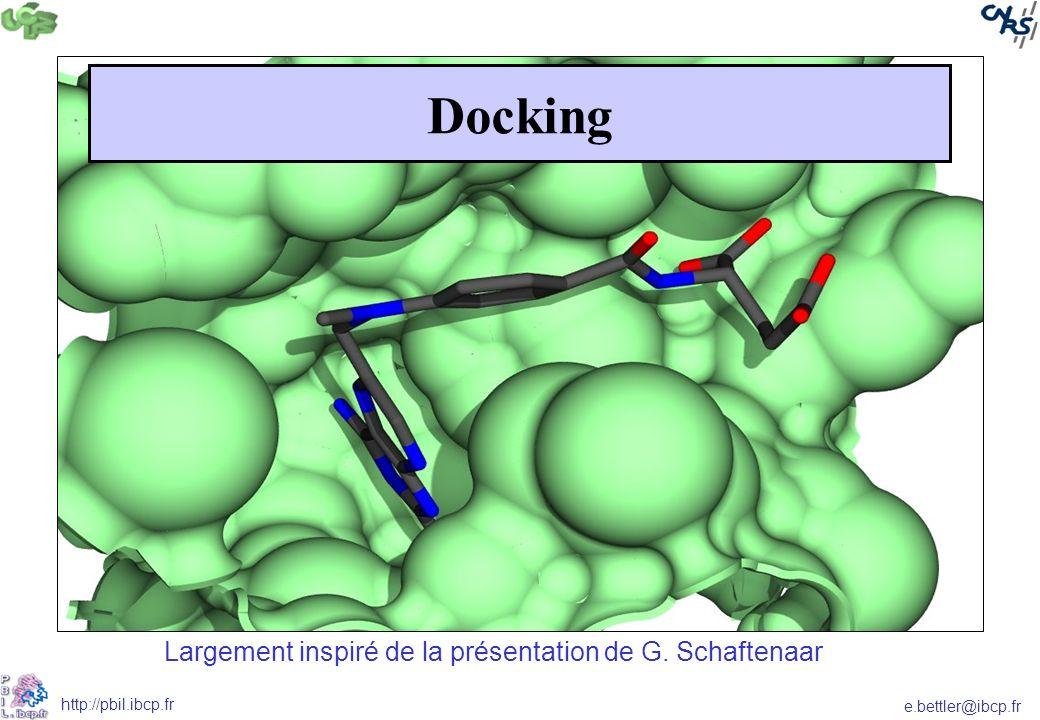 Docking Largement inspiré de la présentation de G. Schaftenaar