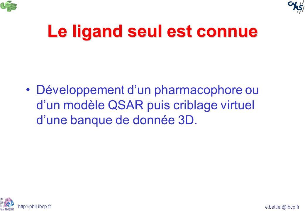 Le ligand seul est connue