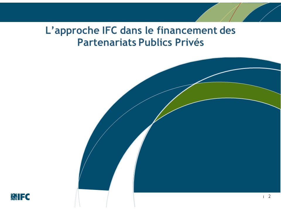 L'approche IFC dans le financement des Partenariats Publics Privés