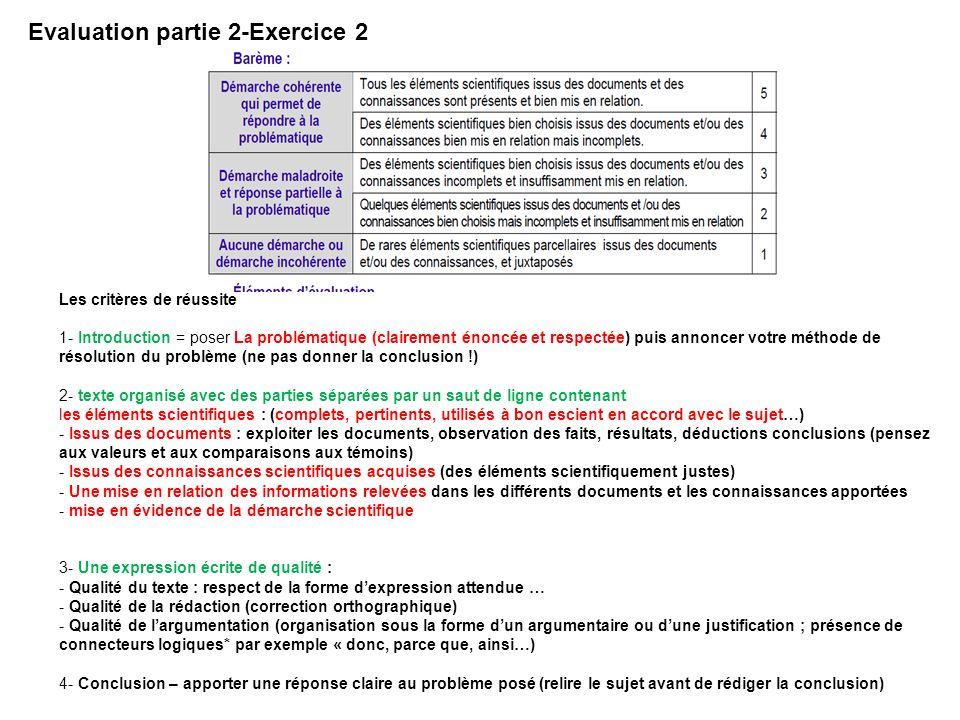 Evaluation partie 2-Exercice 2
