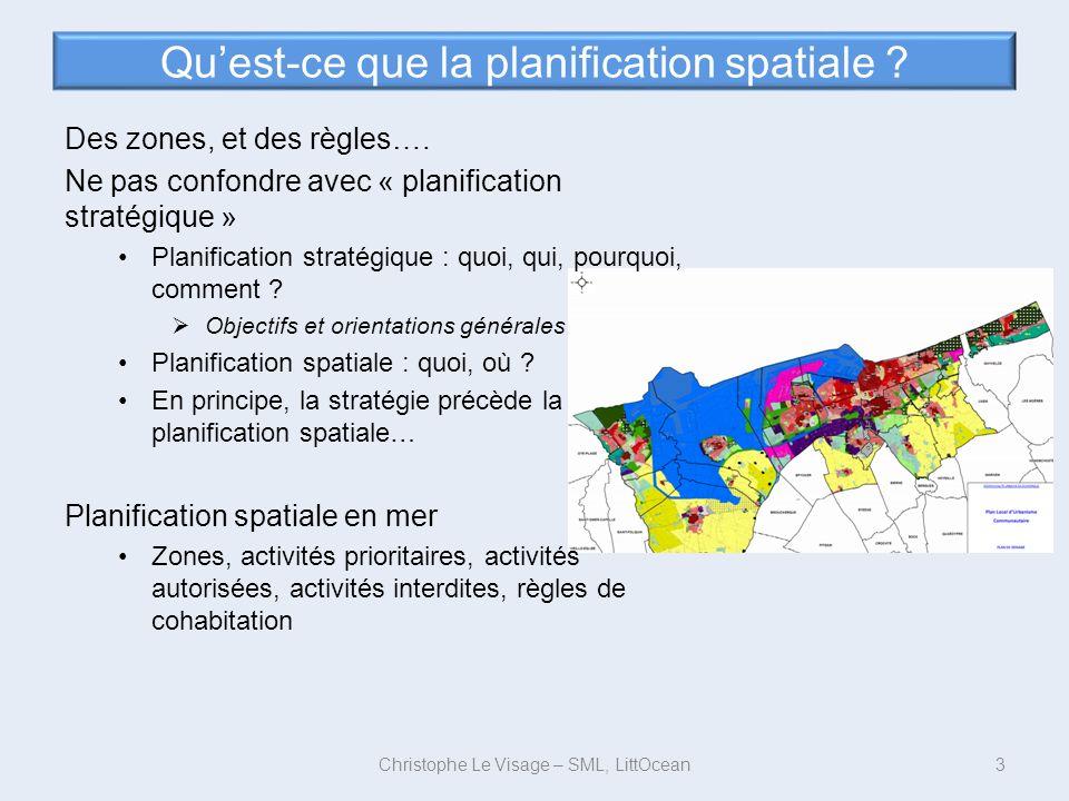 Qu'est-ce que la planification spatiale