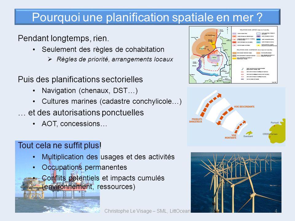 Pourquoi une planification spatiale en mer