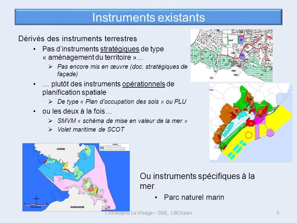 Instruments existants